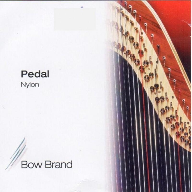 Bow Brand Nylonsaiten für Pedalharfe, Oktave 3