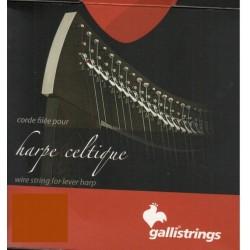 Camac Basssaiten Gallistrings für keltische Harfen, Oktave 6