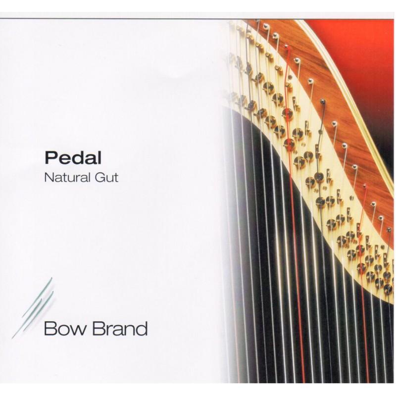 Bow Brand Standard Darmsaiten für Pedalharfe, Oktave 2
