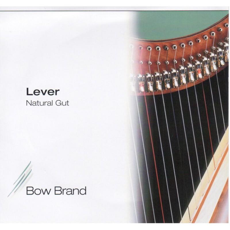 Bow Brand Darmsaiten für Klappenharfe, Oktave 2