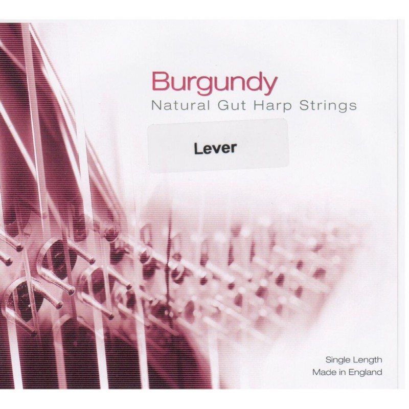 Bow Brand Burgundy Darmsaiten für Klappenharfe, Oktave 2