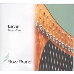 Bow Brand Basssaiten STANDARD für Klappenharfe, Oktave 5