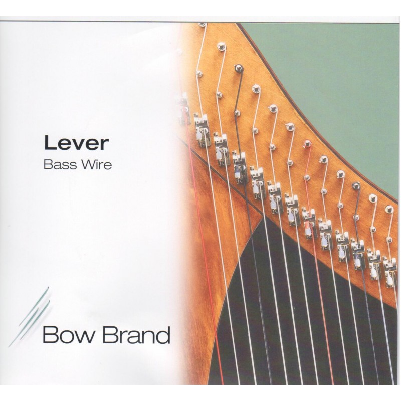 Bow Brand Basssaiten STANDARD für Klappenharfe, Oktave 6